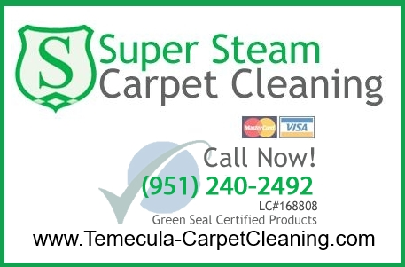 Upholstery Steam Cleaning Temecula